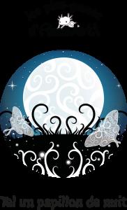 couverture représentant des papillons allant vers la lune